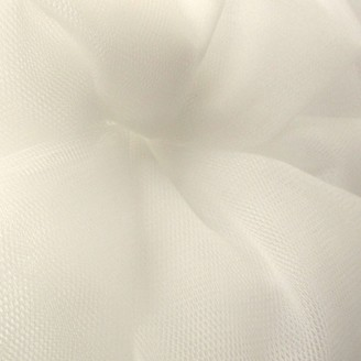 Carrington Fabrics Victoria Mesh Fabric, Ivory