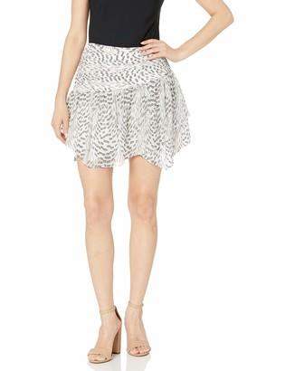 Ramy Brook Women's Textured Leopard RENLY Mini Skirt