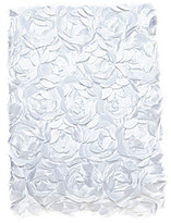 Edgehill Collection Satin Roses Blanket
