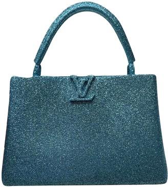 Louis Vuitton Blue Glitter Bag charms