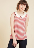 Everyday Fave Tank Top in Red in M