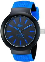 Lacoste Men's 2010815 BORNEO Analog Display Japanese Quartz Blue Watch