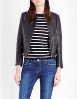 Sandro Stardust leather jacket