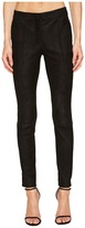 Yigal Azrouel Snakeskin Embossed Leather Pants Women's Casual Pants