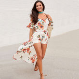 LOVE REIGNS Love Reigns 3/4 Sleeve Floral Maxi Dress-Juniors