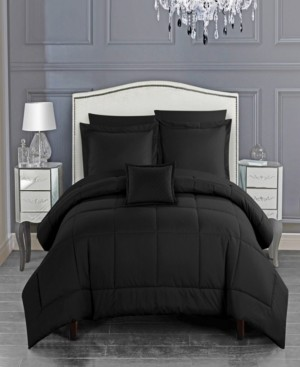 Chic Home Jordyn 6 Piece Twin Bed In a Bag Comforter Set Bedding