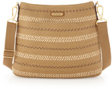 Eric Javits Squishee Escape Crossbody Pouch, Natural Mix