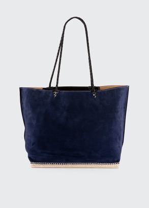 Altuzarra Espadrille Large Suede Shoulder Tote Bag