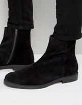 Zign Suede Zip Boots