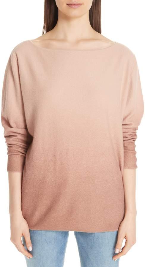 Fabiana Filippi Ombre Bateau Cashmere Sweater