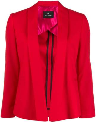 Paul Smith open front cropped blazer