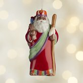 Crate & Barrel Around the World Africa Santa Ornament