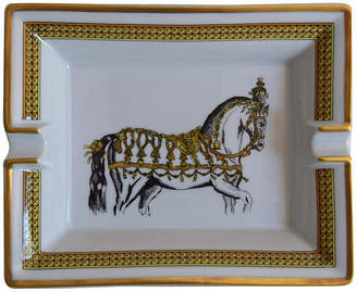 One Kings Lane Vintage Hermes France Regal Horse Cigar Ashtray - The Montecito Collection