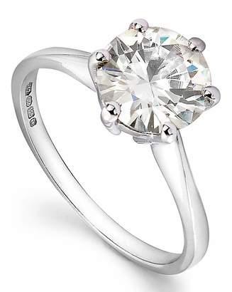 Marisota Moissanite 9 Carat Gold 2 Carat Ring