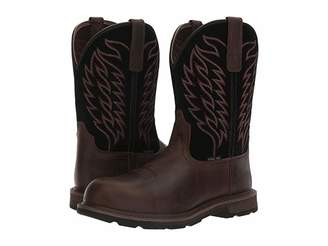 Ariat Groundbreaker Pull-On ST (Brown/Black) Cowboy Boots