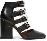 Laurence Dacade Maja Buckled Leather Pumps - Black