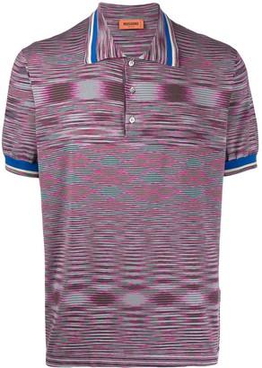 Missoni Geometric Pattern Polo Shirt