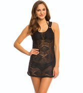 J Valdi J.Valdi Diamond Crochet Ring Tank Cover Up Dress 8141023