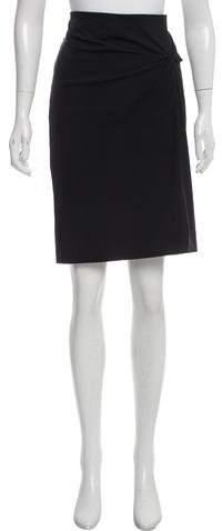 Gunex Knee-Length Knit Skirt