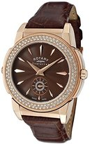 Rotary Evolution TZ2 Women's 36mm Calfskin Quartz Watch ELS0010-TZ2-49-31