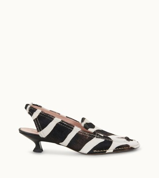 Tod's Slingbacks in Leather