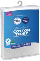 Protect A Bed Protect-A-Bed Cotton Terry Pillow Protector (Each) - King Pillow