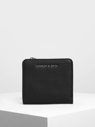 Charles & Keith Classic Snap Button Card Holder