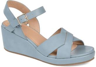 Journee Collection Kirstie Wedge Sandal