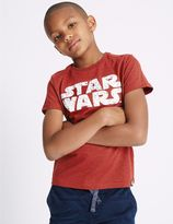 Marks and Spencer Cotton Blend Star WarsTM Top (3-14 Years)