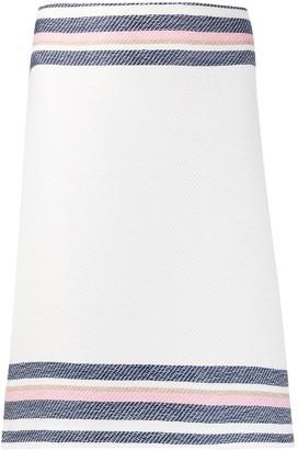 Steffen Schraut Contrast Stripes Skirt