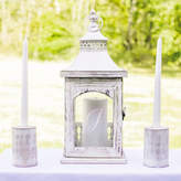 Cathy's Concepts Cathys concepts 3-piece Monogram Lantern & Candle Holder Set