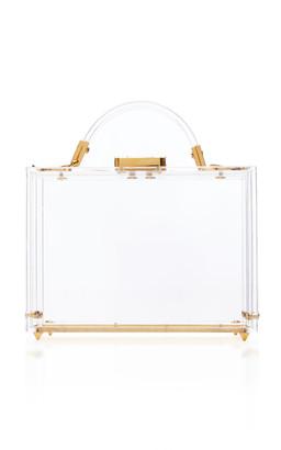 Mark Cross Grace Acrylic Box Bag