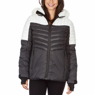 Plus Size Avalanche Soft Touch Hooded Quilted Jacket