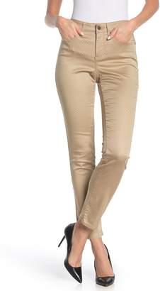 NYDJ Sheri Polka Dot Print Slim Fit Jeans