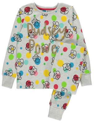 George Children in Need Pudsey Power Sequin Slogan Pyjamas