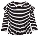Tucker + Tate Stripe Ruffle Swing Tee
