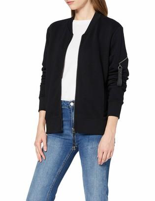 Timezone Women's Bomber Sweat Zipper Jacket Sweatshirt