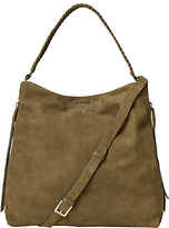White Stuff Shea Nubuck Leather Hobo Bag