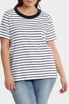 Essential Duo Stripe Short Sleeve Tee