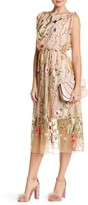Eva Franco Rosetta Embroidered Dress