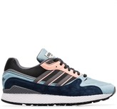 adidas blue and grey Ultra Tech suede sneakers