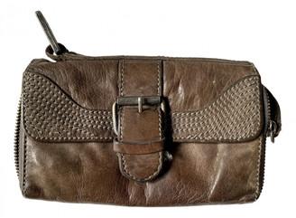 AllSaints Grey Leather Purses, wallets & cases