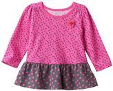 Baby Girl Jumping Beans® Peplum-Hem Tunic