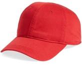 Lacoste Men's 'Classic' Cap - Red