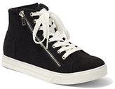New York & Co. Zip-Accent High-Top Sneaker