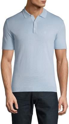 Roberto Cavalli Logo Short-Sleeve Cotton Polo