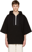 Acne Studios Black Florida Short Hoodie