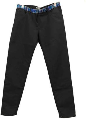 Kenzo Grey Cotton Jeans