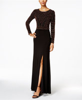 Xscape Evenings 2-Pc. Embellished Gown