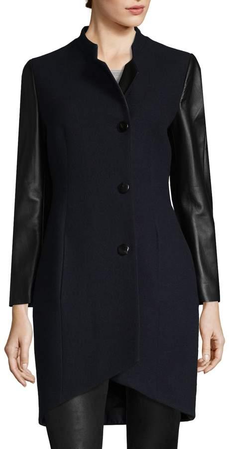 Yves Salomon Women's Wool-Blend Coat